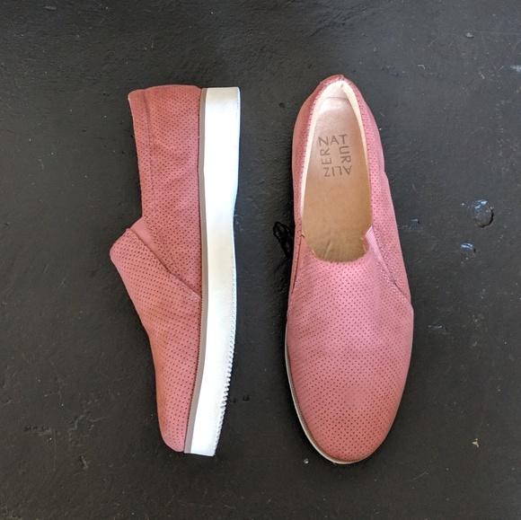 Slip On Coral Suede Sneakers   Poshmark